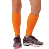 Zensah Leg Sleeve Neon Orange