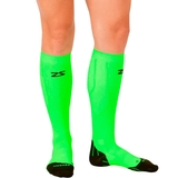 Zensah Tech + Compression Socks Neon Green