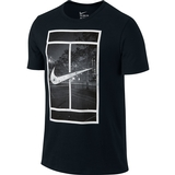 Nike Court  Logo Men`s Tennis Tee