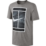 Nike Court Logo Men`s Tennis Tee