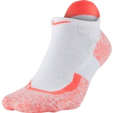 Nike Elite No Show Tennis Socks Hot Lava / White