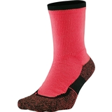 Nike Elite Crew Tennis Socks Hot Lava / Black