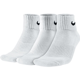 Nike 3 Pack Quarter Tennis Socks White