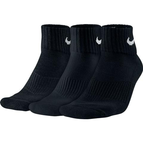 Nike 3 Pack Quarter Tennis Socks