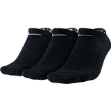 Nike 3 Pack No Show Tennis Socks Black