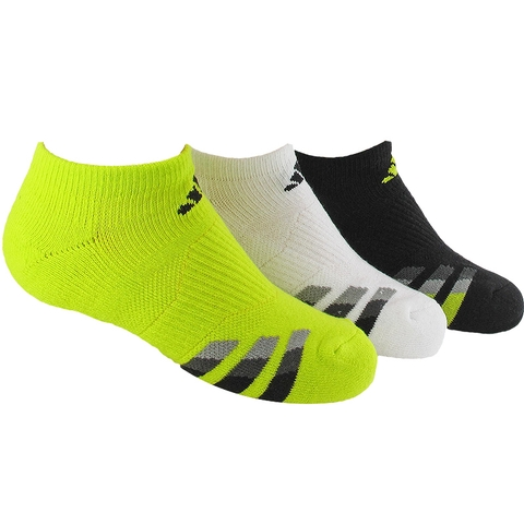 Adidas Cushion 3 Pack No Show Junior's Tennis Socks
