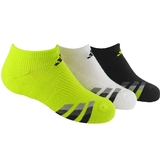 Adidas Cushion 3 Pack No Show Junior's Tennis Socks Assorted