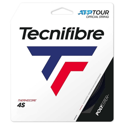 Tecnifibre Black Code 4s 17 Tennis String Set