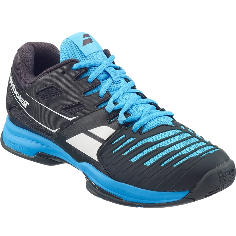babolat sfx 2 s tennis shoe black blue