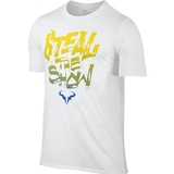 Nike Rafa Steal The Show Men's Tennis Tee