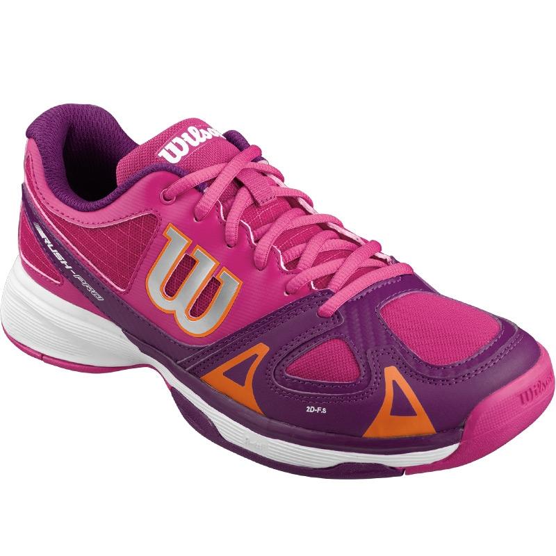 wilson pro junior tennis shoe pink