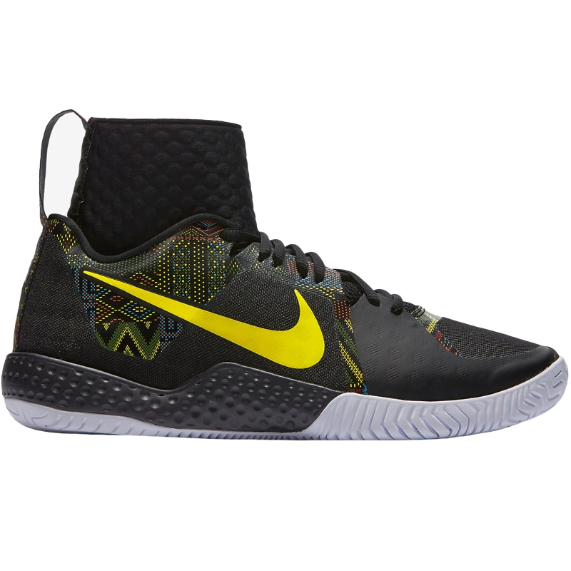 nike flare bhm limited edition s tennis shoe black