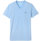 Lacoste V- Neck Jersey Cotton/Polyester Men's T- Shirt