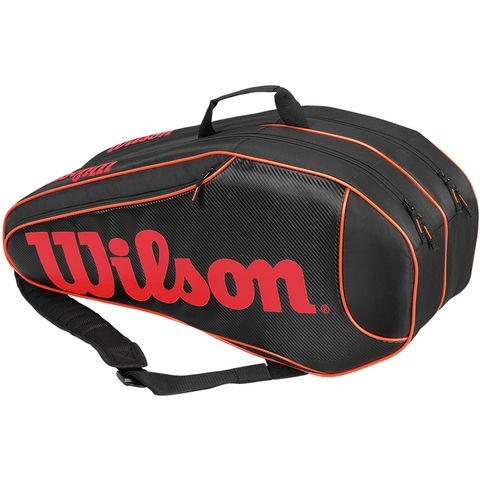 Wilson Burn Team 6 Pack Tennis Bag