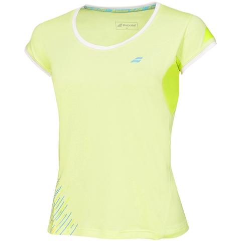 Babolat Performance Cap Sleeve Women ' S Tennis Top