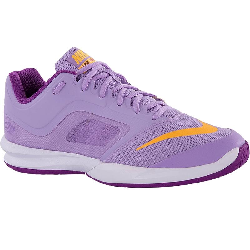 nike ballistec advantage s tennis shoe lilac orange