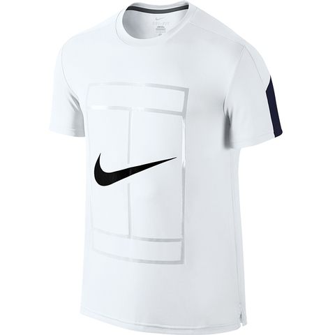Nike Court Logo Men's Tennis Crew