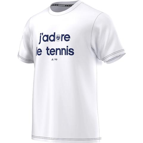 Adidas Roland Garros Y- 3 Men's Tennis Tee