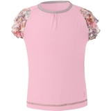 Sofibella Mock Sleeve Girl's Tennis Top