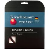 Kirschbaum Pro Line Ii Rough 1.30 Tennis String Set - Black