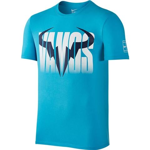 Nike Rafa Crew Mens Tennis Tee