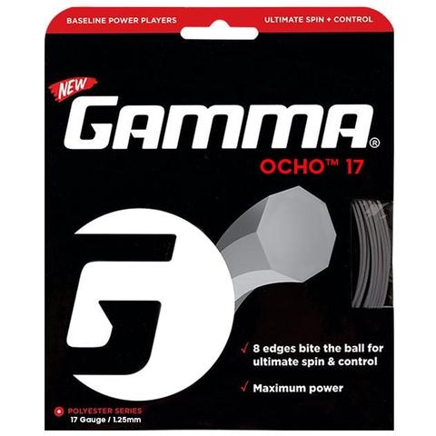 Gamma Ocho 17 Tennis String Set - Silver