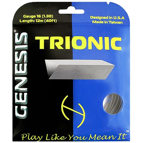Genesis Trionic 16 Tennis String Set