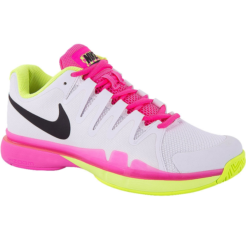 Nike Zoom Vapor 9.5 Tour Women's Tennis Shoe White/pink/volt