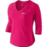 Nike Pure 3/4 Women's Tennis Top