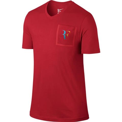 Nike Roger V- Neck Men's Tennis Tee