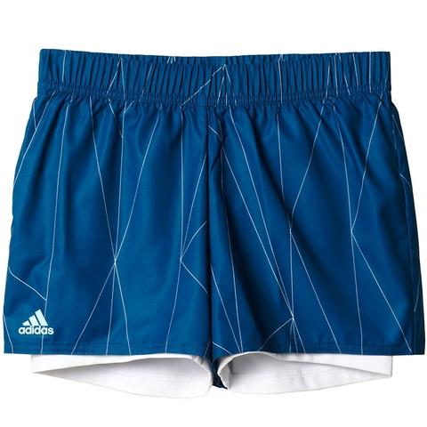 Adidas Club Printed Girl's Tennis Short