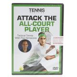 Attack The All- Court Player Tennis Dvd