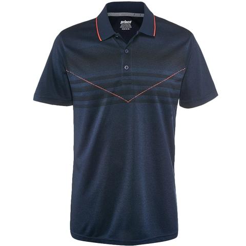 Prince Chest Stripe Men's Tennis Polo