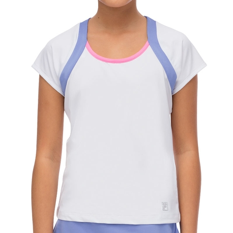 Fila Diva Cap Sleeve Girl's Tennis Top