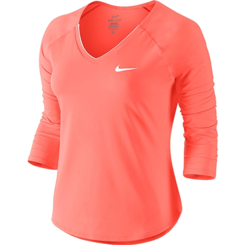 Nike Pure 3/4 Women's Tennis Top