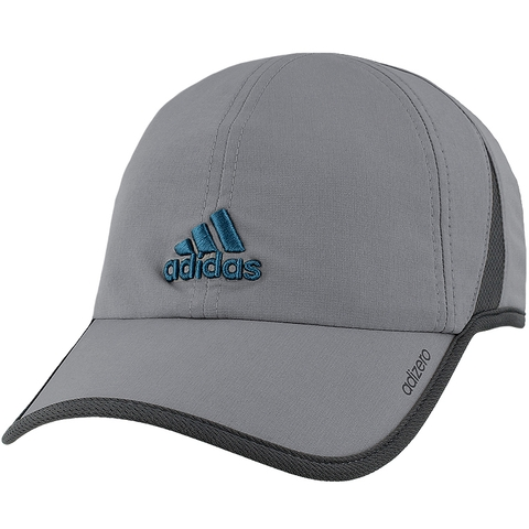 Adidas Adizero Ii Men S Tennis Hat Grey Steel