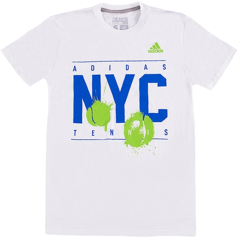 Adidas Nyc Graphic Men's Tennis Tee