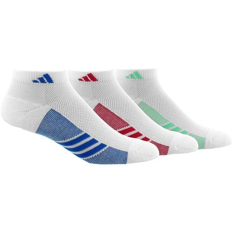 Adidas Variegated 3- Pack Low Cut Women's Tennis Socks
