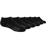 Adidas Striped 6 Pack No Show Junior's Tennis Socks