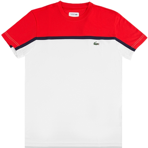 Lacoste Ultradry Color Block Men's Crew
