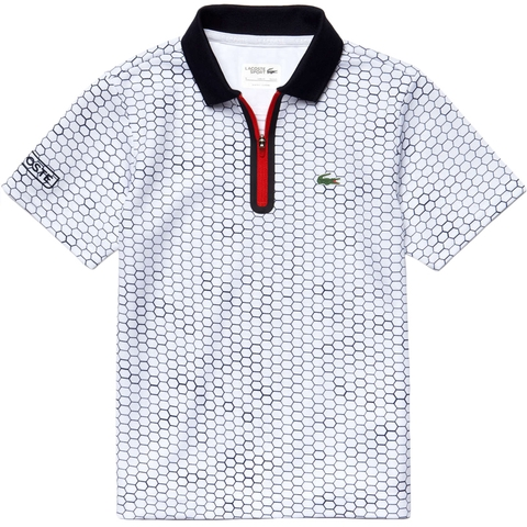 Lacoste Ultra Dry W/Zipper Boy's Polo