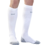 Zensah Tech + Compression Socks White