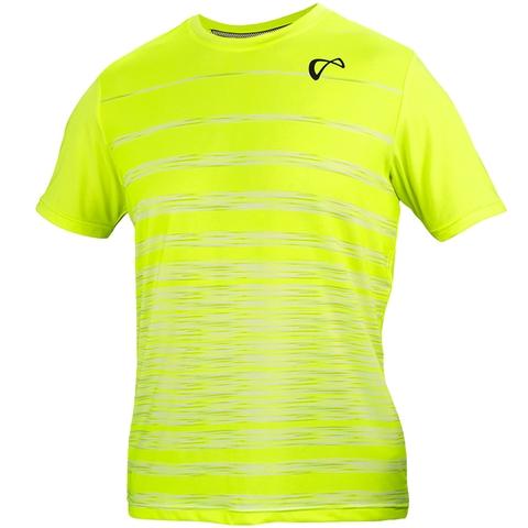 Athletic Dna Hombre Stripe Boy's Tennis Crew