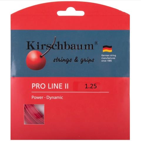 Kirschbaum Pro Line Ii 1.25 Tennis String Set - Red