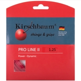 Kirschbaum Pro Line Ii 1.25 Tennis String Set - Red