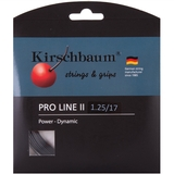 Kirschbaum Pro Line Ii 1.25 Tennis String Set - Black