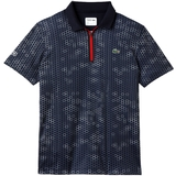 Lacoste Printed Ultradry W/Zipper Men's Tennis Polo