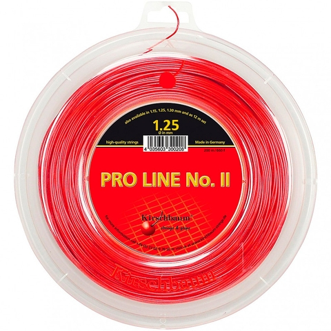 Kirschbaum Pro Line Ii 1.25 Tennis String Reel - Red