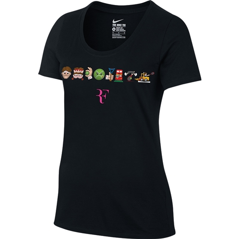 Nike Rf Emoji Face Women's Tennis Tee
