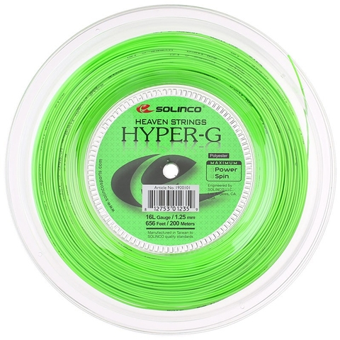 Solinco Hyper- G 16l Tennis String Reel